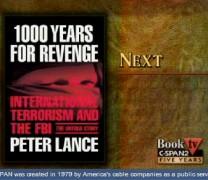 Book TV Peter Lance on 1000 Years For Revenge 10.8.03