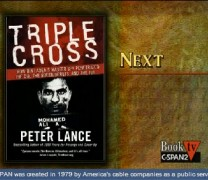 Book TV Peter Lance on Triple Cross Paperback 7.18.09