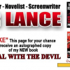 LIKE DEAL WITH THE DEVIL on Facebook and get a chance to win a signed first edition
