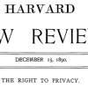 The law review article that created The Right to Privacy and an entire new body of media law