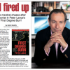 """Review of the new hardcover edition of FDNY film-noir thriller """"First Degree Burn"""""""