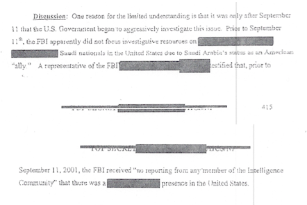 "The real ""smoking gun"" in the 28 pages of the Joint"
